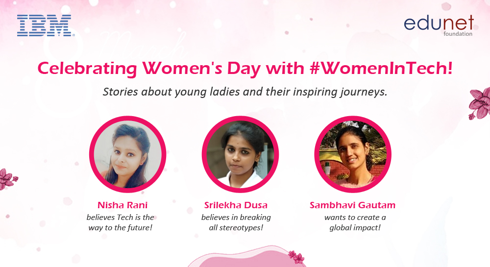 Celebrating Women's Day with #WomenInTech!